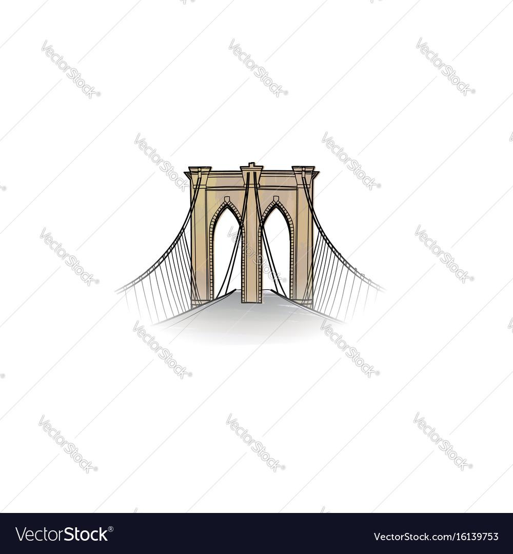 New-york city travel nyc icon american landmark