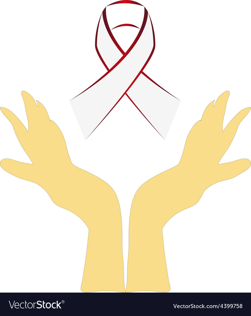 Awareness ribbon background