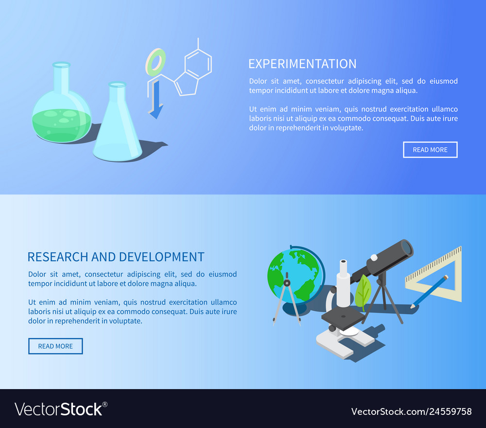 Experementation research and development info