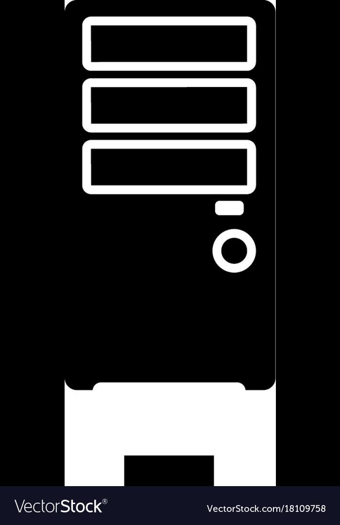 Network server icon black