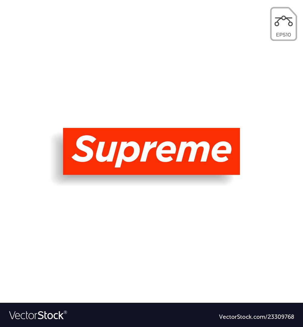 Supreme design t shirt print social media blog