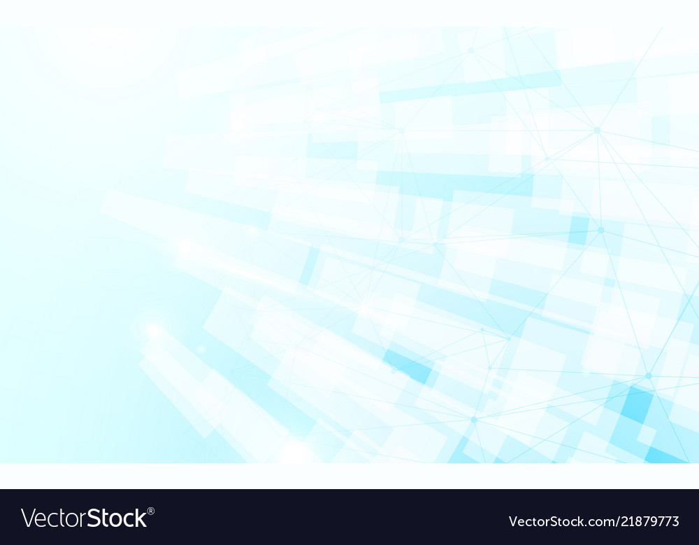 Abstract white and blue modern square background