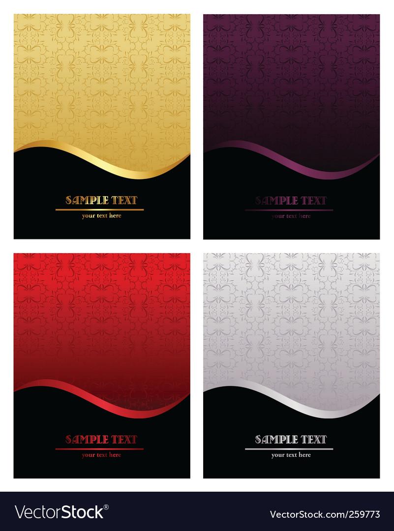 Luxury backgrounds vector image