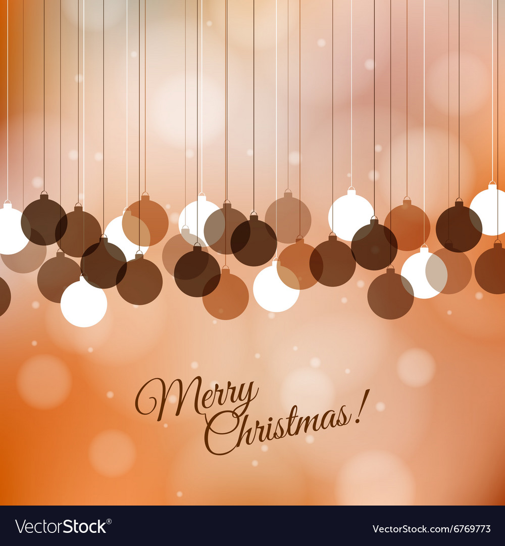 Merry christmas greeting background with holiday