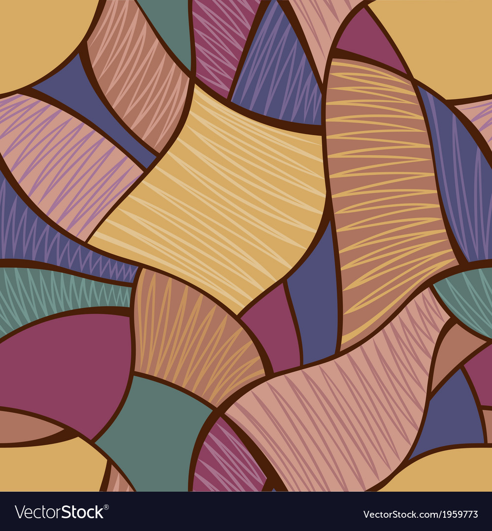 Multicolored abstract seamless background