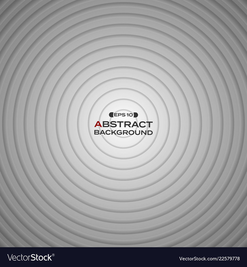 Abstract black white gradient circle background