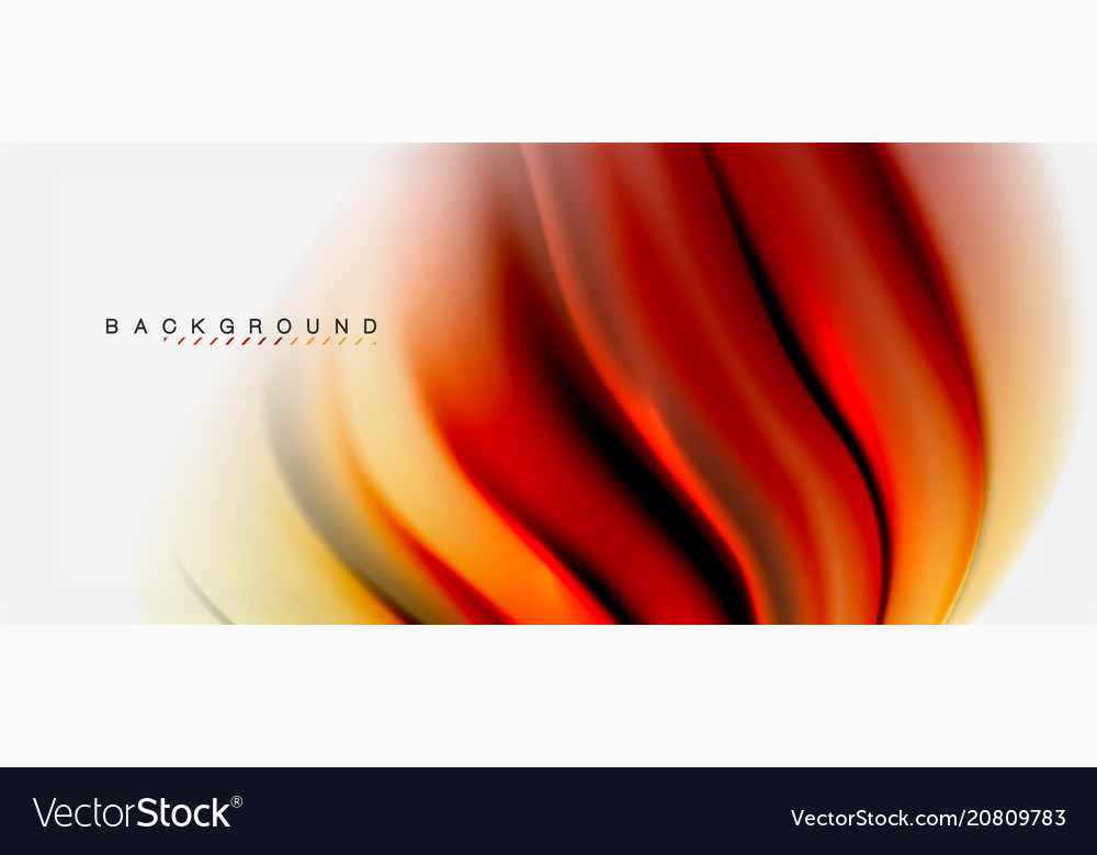 Blurred fluid colors background abstract waves