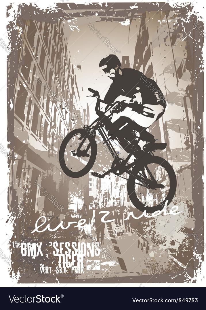 Street biker BMX