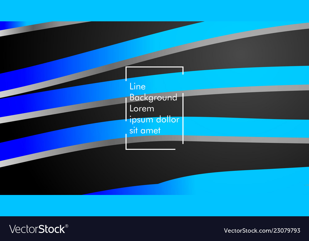 Abstract wave background with blue gradient