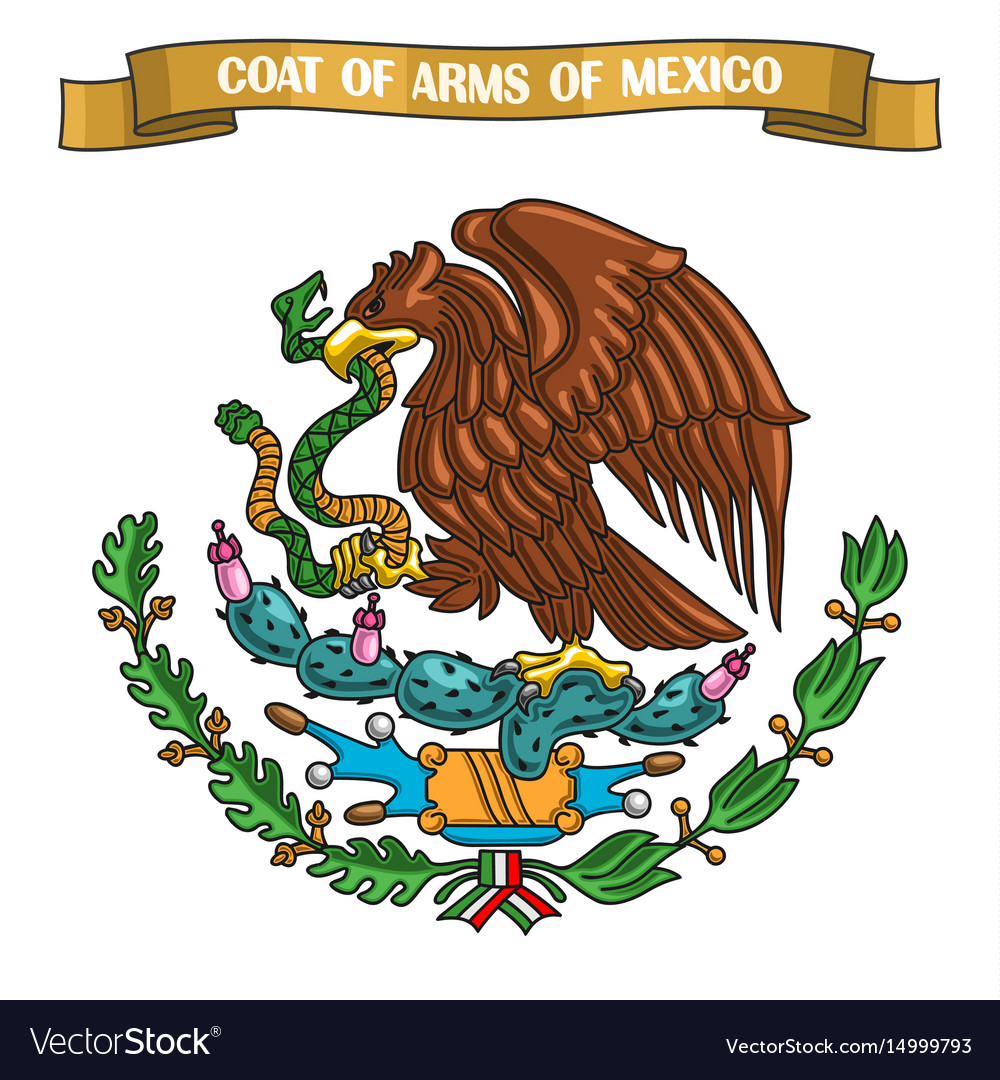 Mexican coat arms