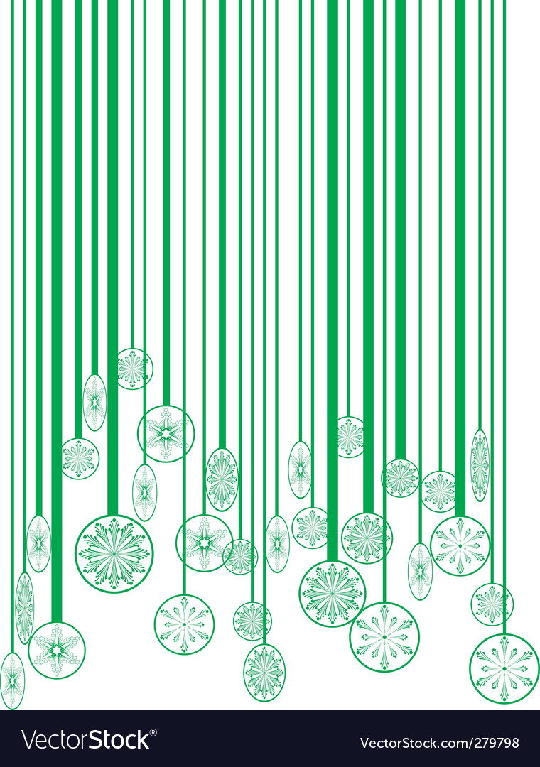 Christmas green barcode