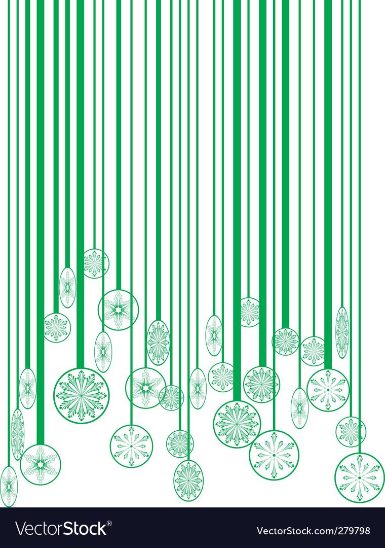 barcode vector art. Christmas Green Barcode Vector