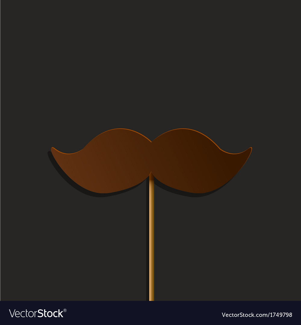 Mustache party background Eps10