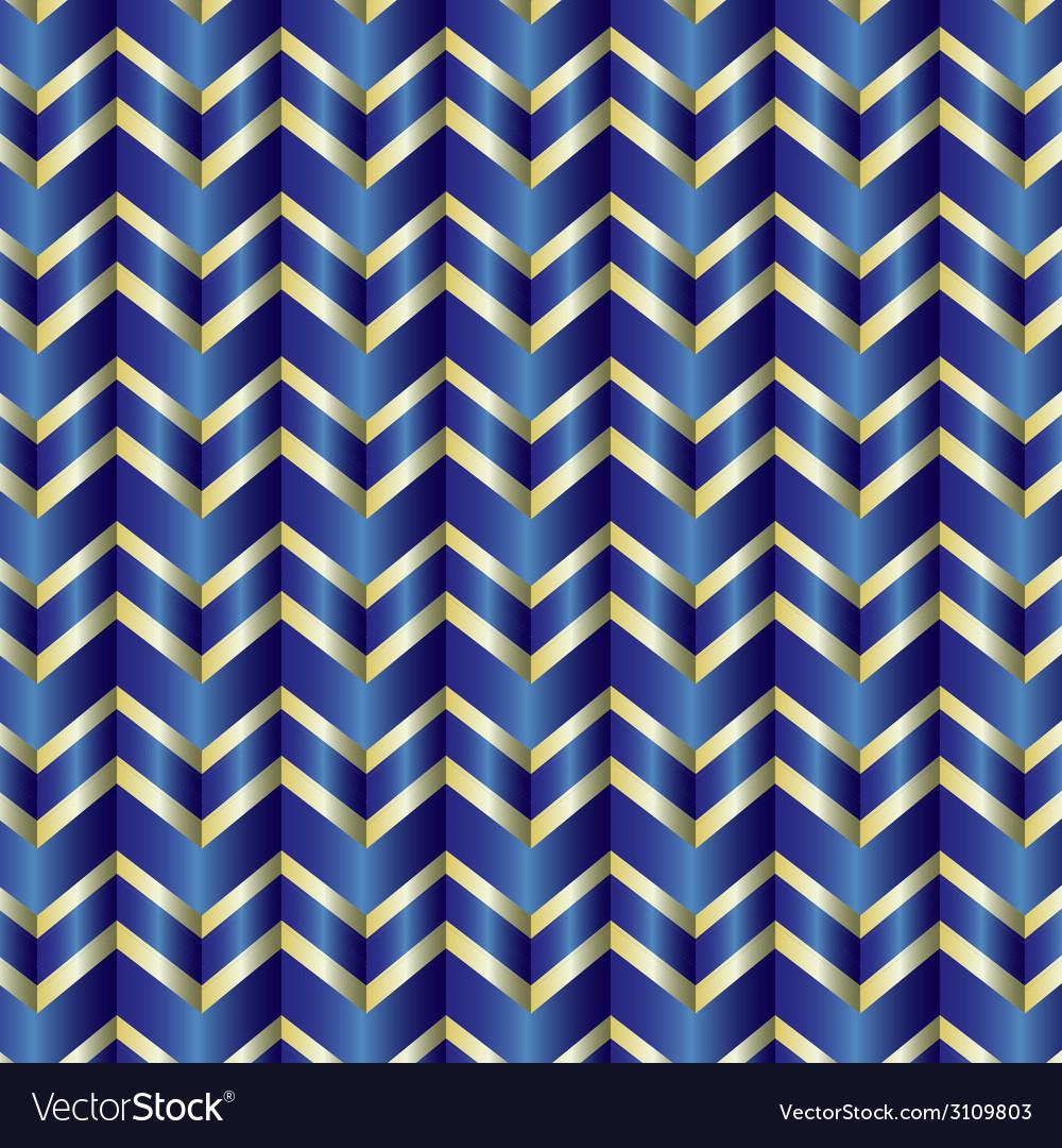 Chevron blue ribbon