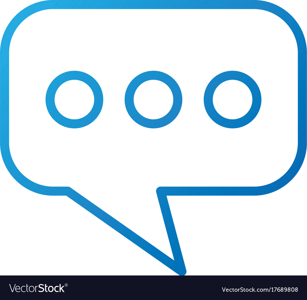 Speech bubble message chat dialog communication