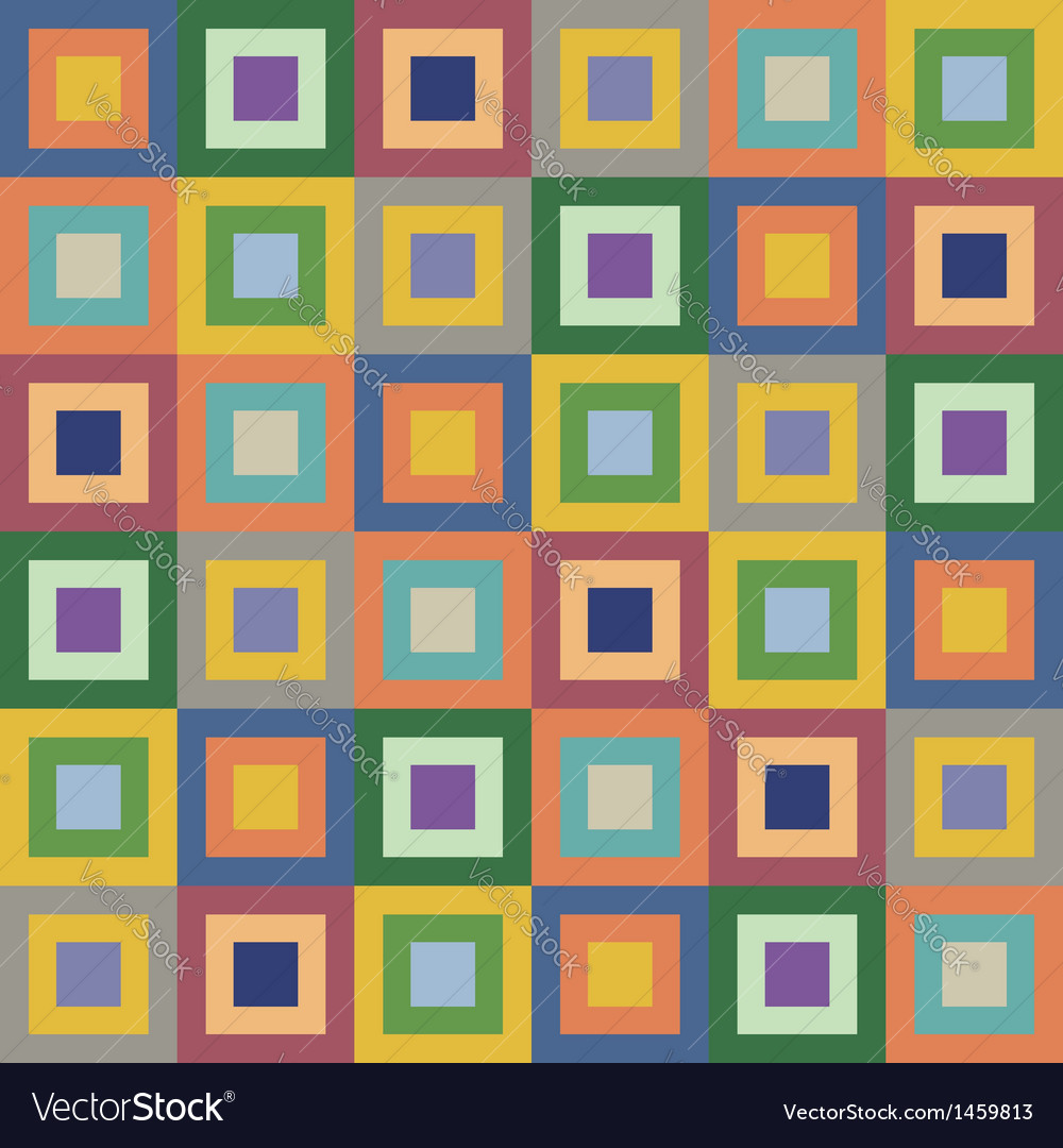 Retro styled seamless pattern