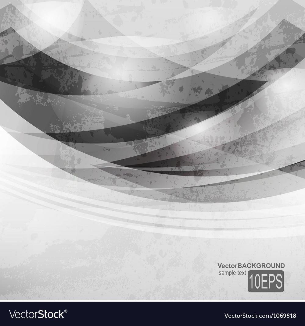 Abstract dark shape design concept