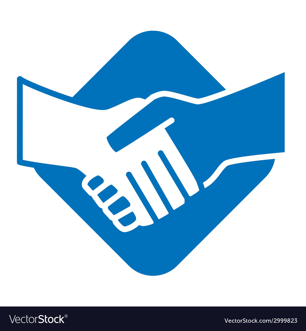 handshake royalty free vector image vectorstock rh vectorstock com handshake vector icon handshake vector free download