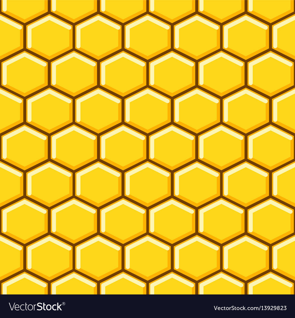 Honeycomb pattern cells background