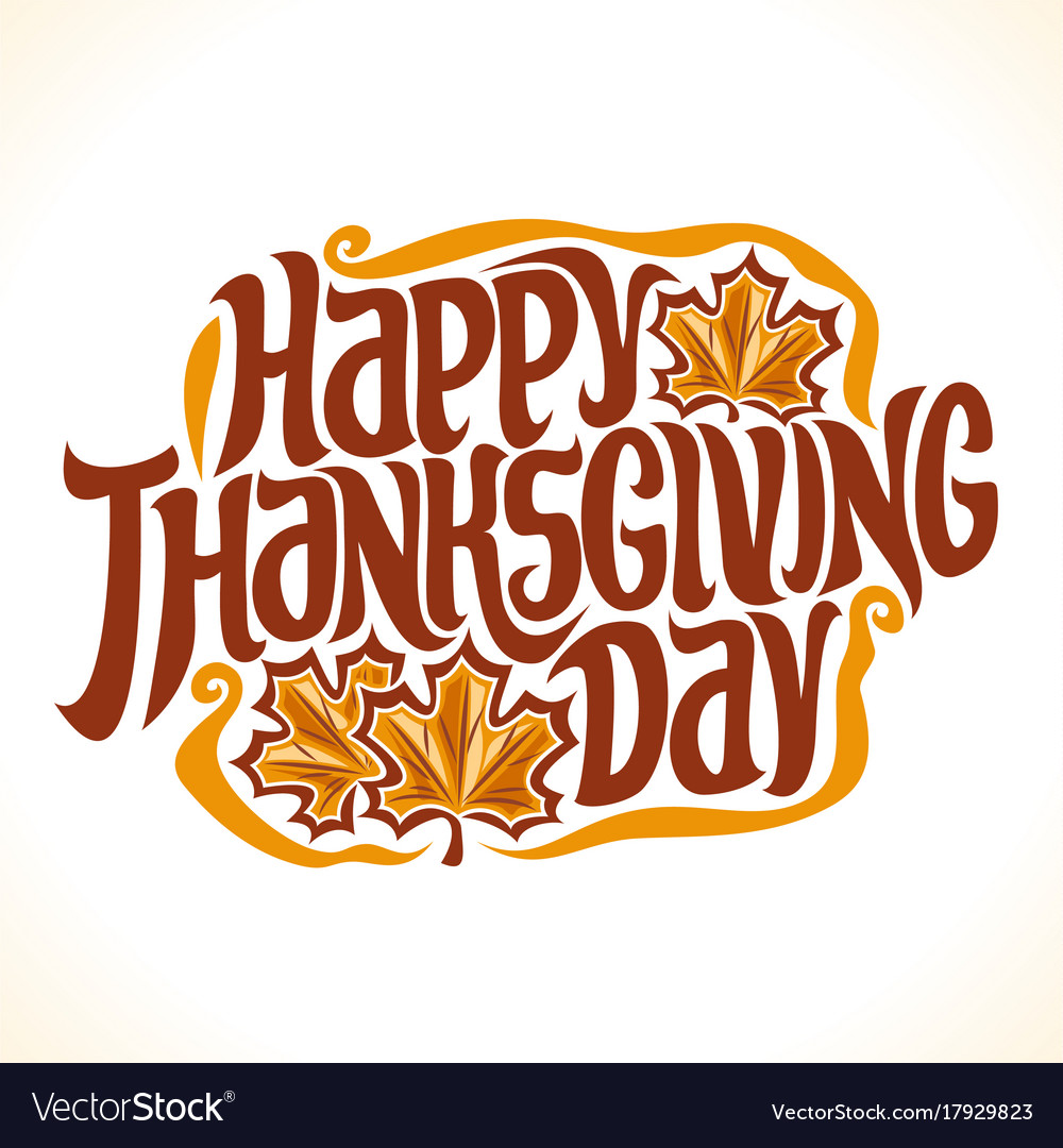 Poster for thanksgiving