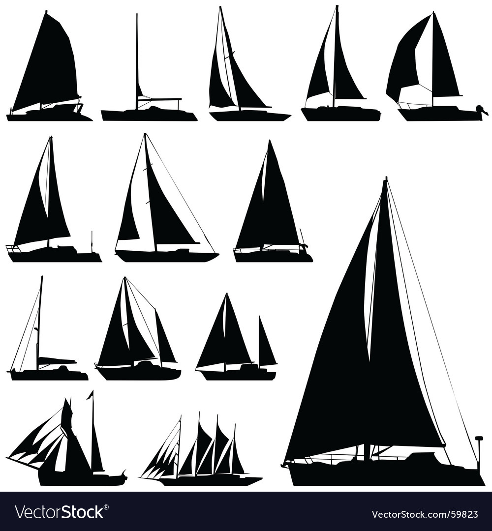 sailing boat royalty free vector image vectorstock rh vectorstock com boats victoria boat vector png