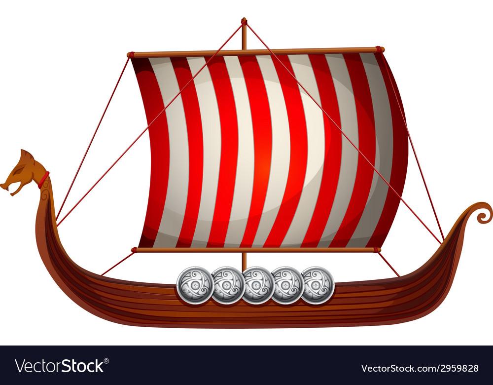 viking ship royalty free vector image vectorstock ship wheel vector free download old ship vector free download