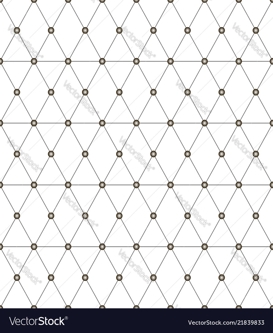 Seamless monochrome pattern with triangles