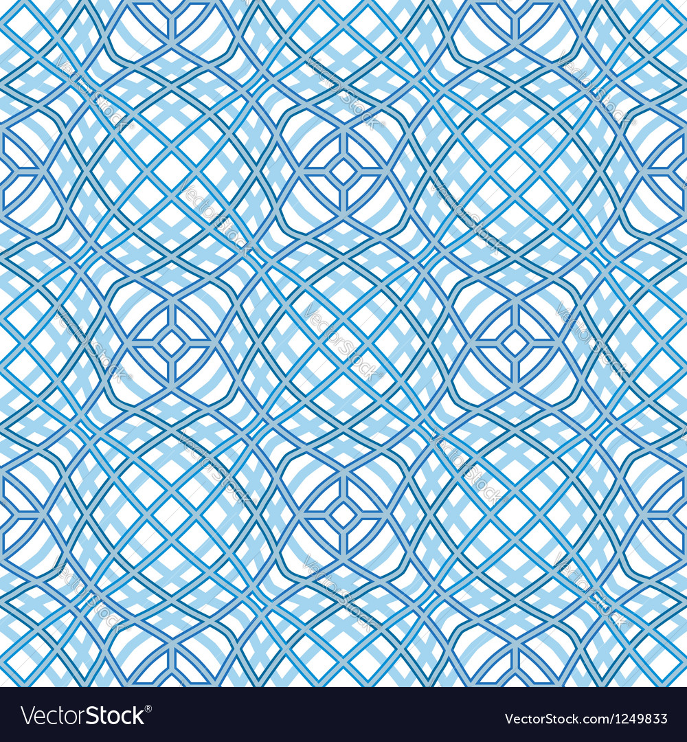 Wavy texture abstract seamless pattern vector image