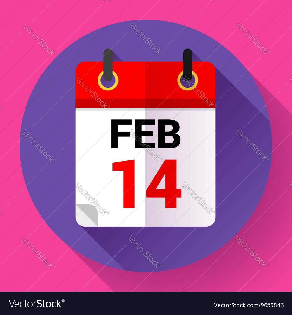 Calendar icon Flat 20