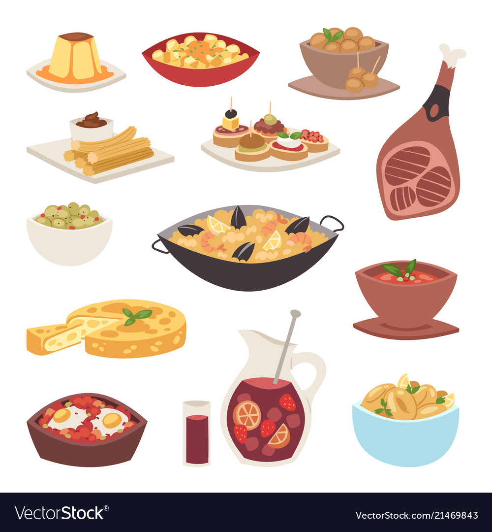 Spain cuisine food cookery traditional dish