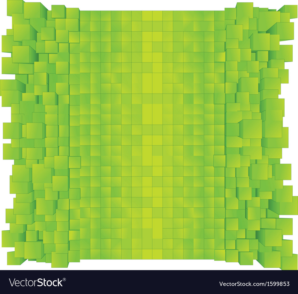 Green Abstract Background Ready for Design