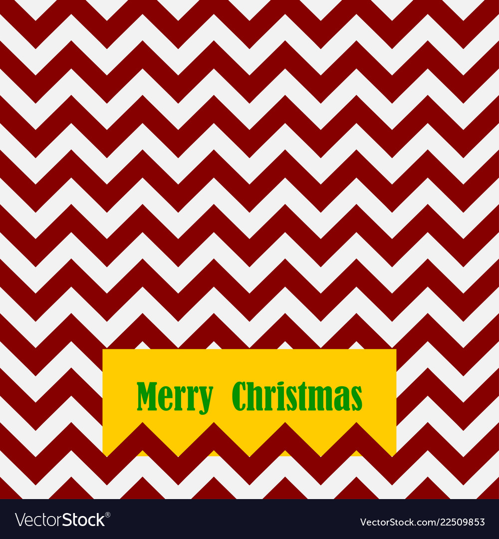 Seamless christmas pattern with card and text
