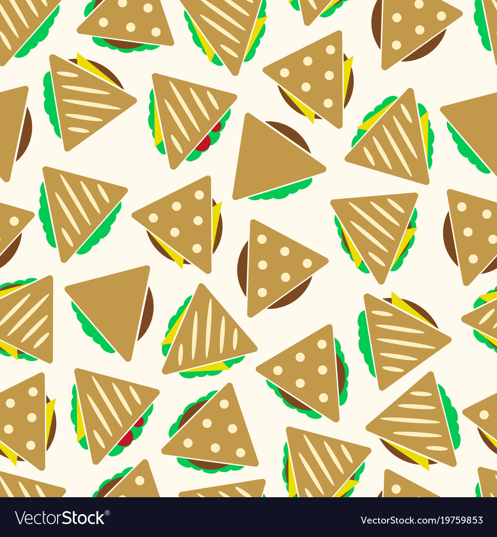 Set of color tortilla or sandwich tacos food