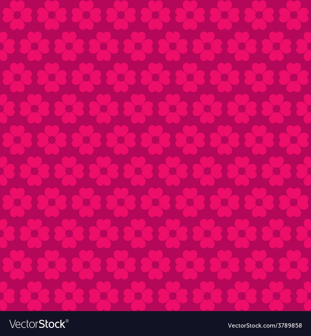 Pink flora pattern background