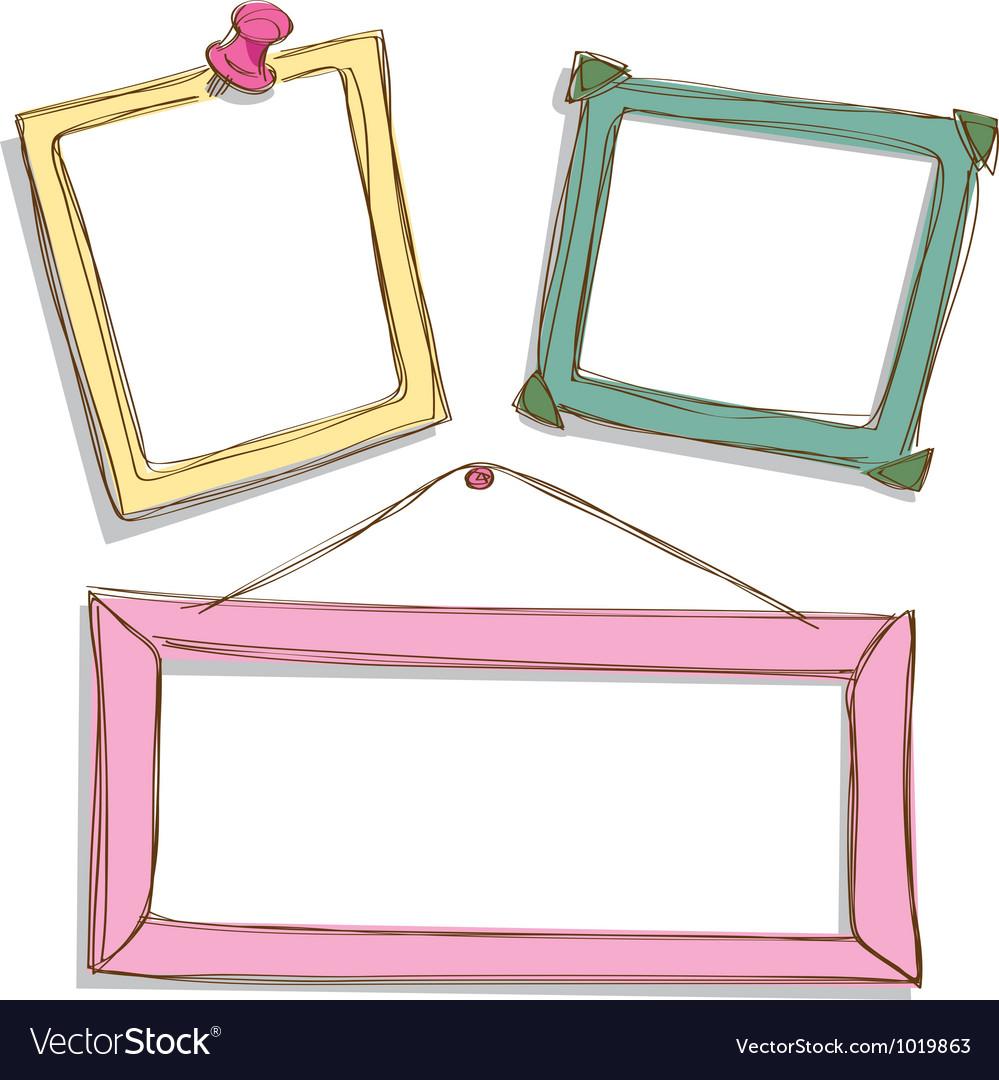 Cute frame Royalty Free Vector Image - VectorStock