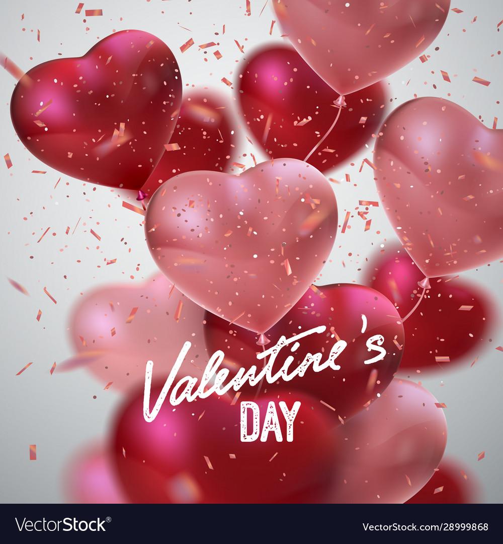 Valentines day holiday decoration