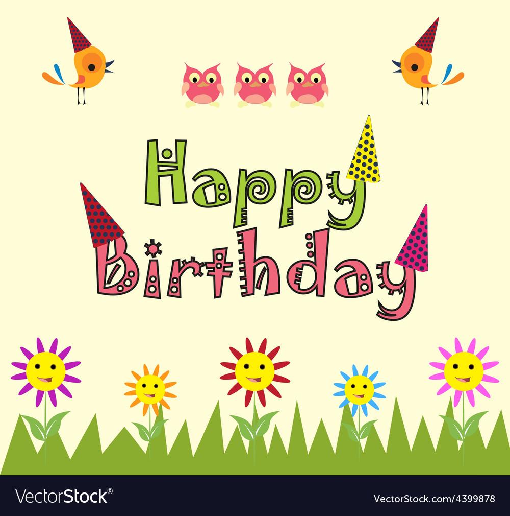 Happy Birthday Card Background