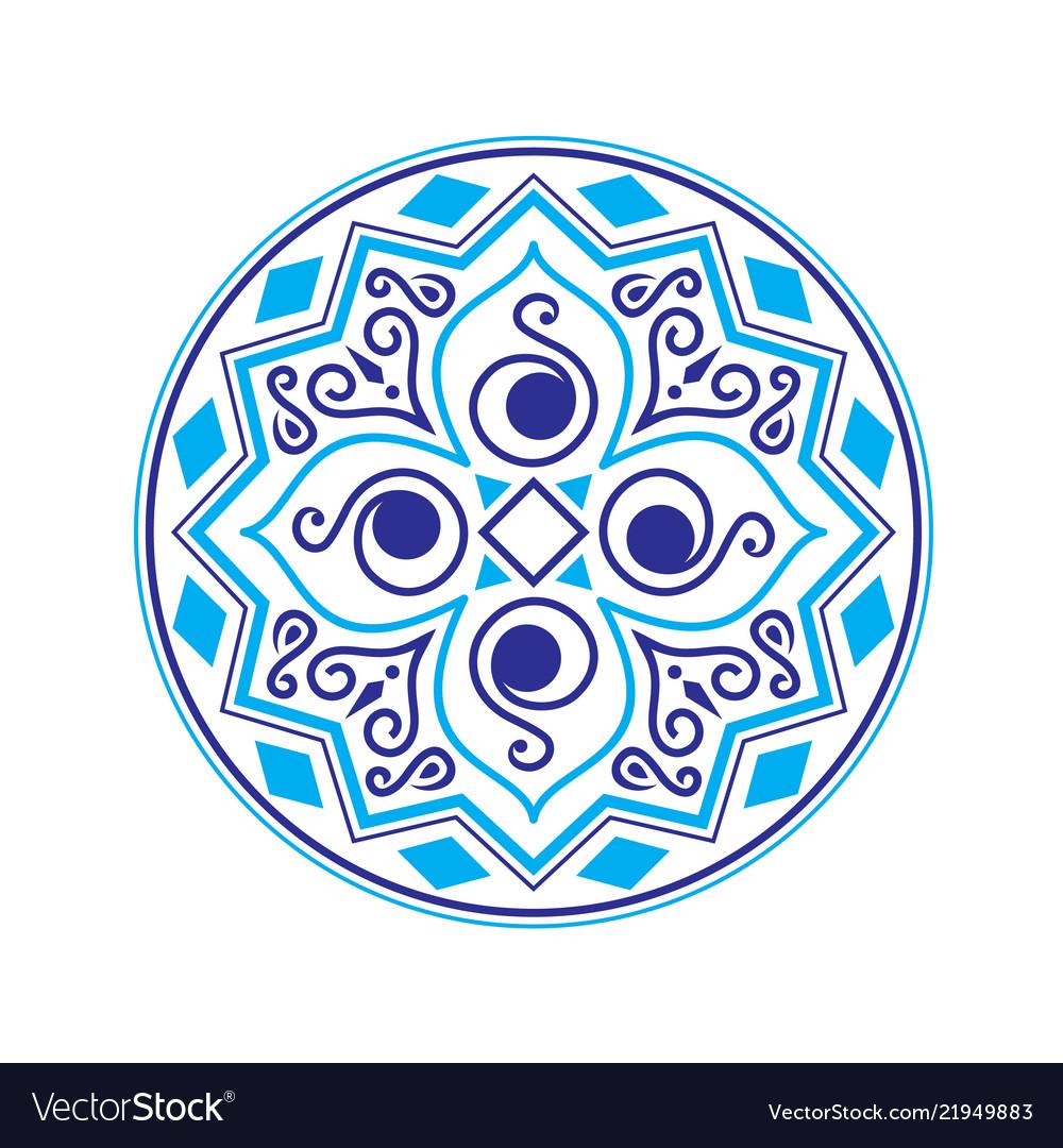 Abstract ethnic logo
