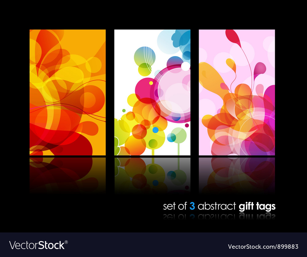 Abstract splash backgrounds vector image