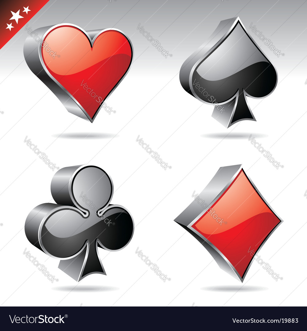 Casino collection vector image
