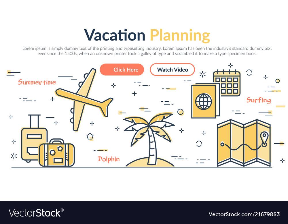Header vacantion planning