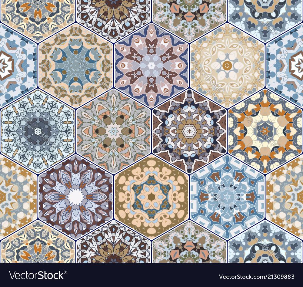 Hexagon set template