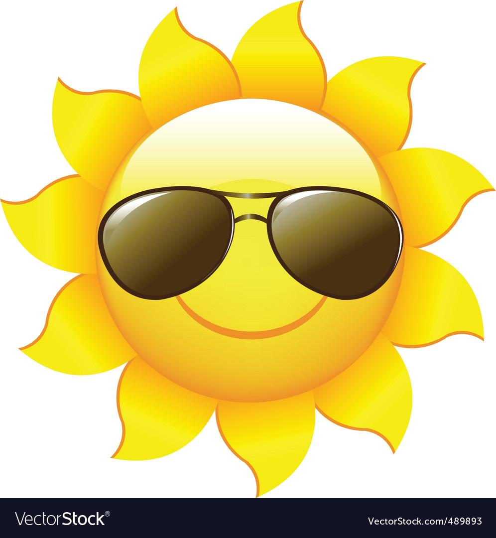 cartoon sun royalty free vector image vectorstock rh vectorstock com funny cartoon pictures of the sun cartoon pictures of sunbathing