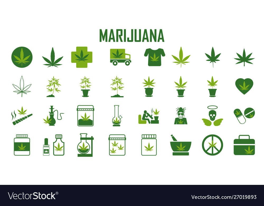 Marijuana cannabis leaf weed medical drug