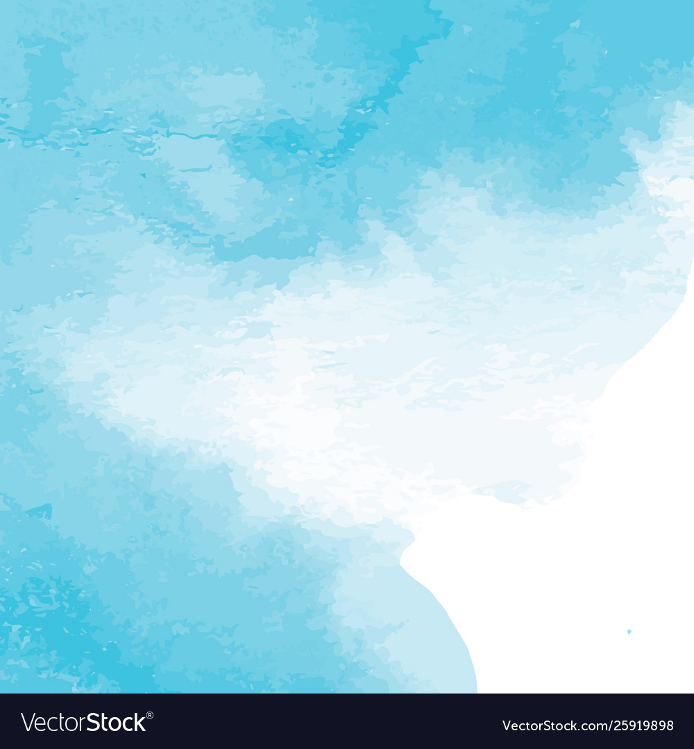 Blue watercolor texture background hand painted