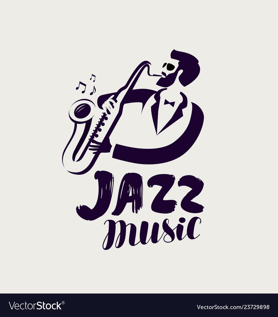 Jazz logo or label live music musical festival