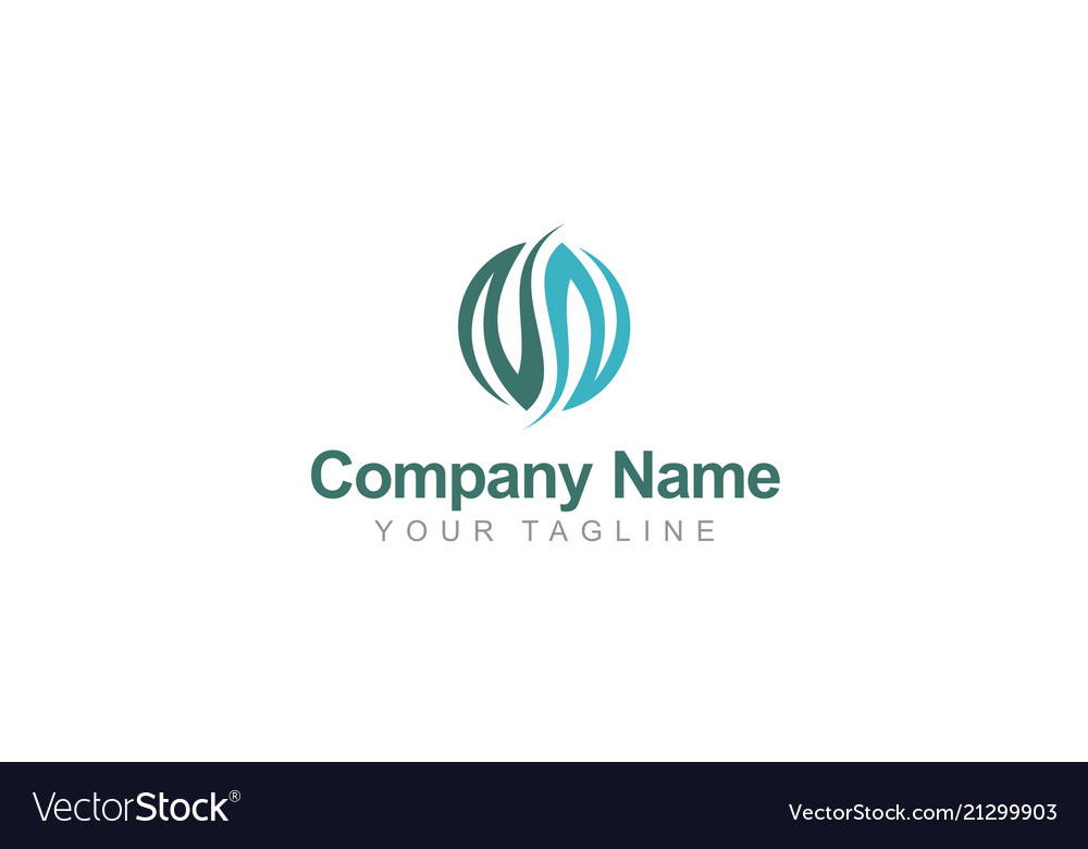 Abstract circle motion business company logo