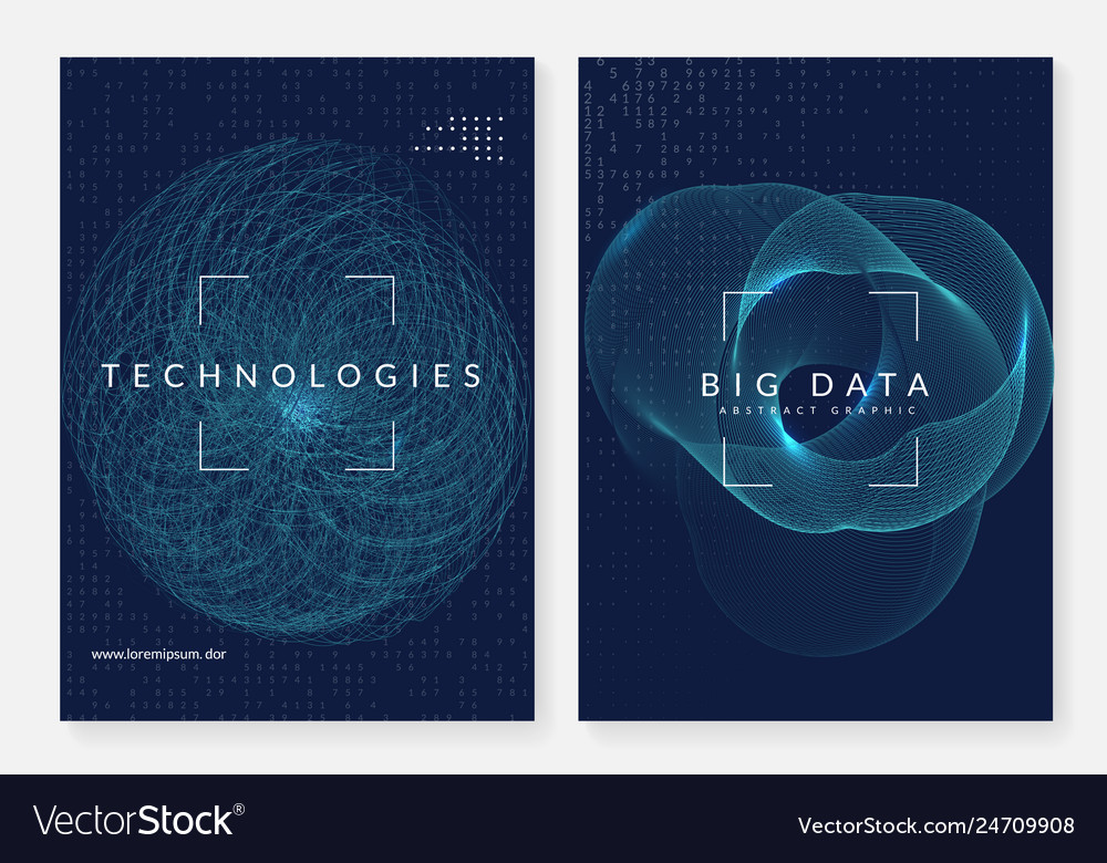 Big data background technology for visualization