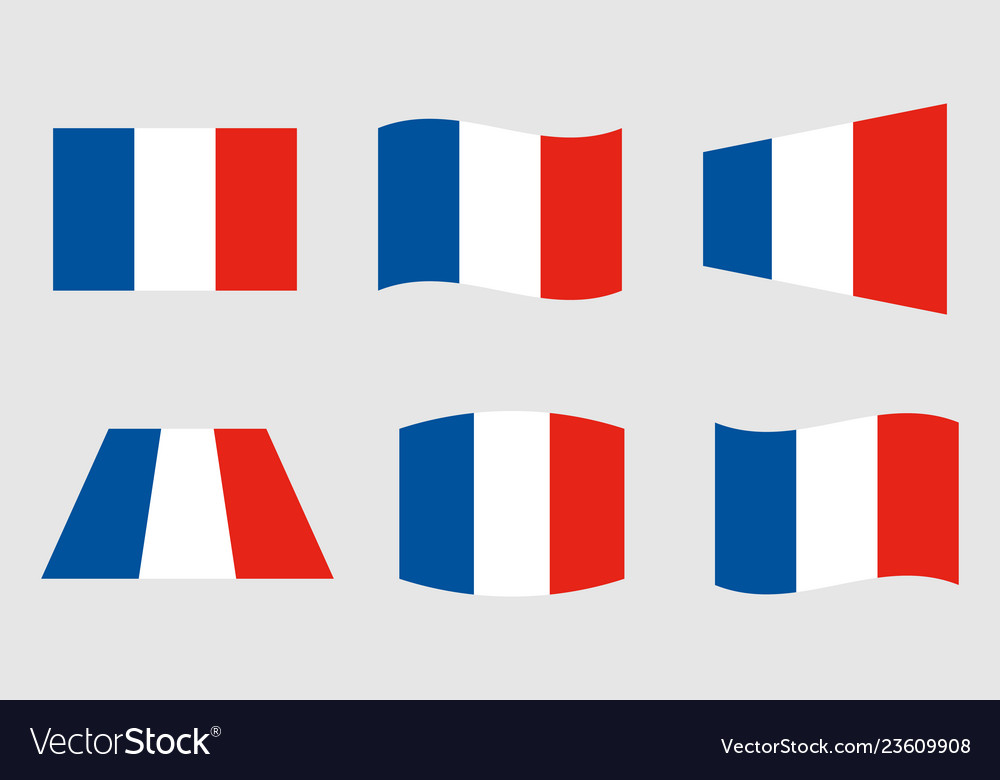 France flag official colors