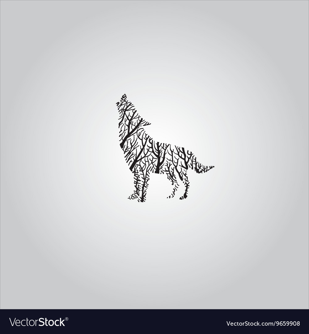 dc2c2cf77 Wolf, Tree & Tattoo Vector Images (48)